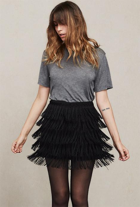 Reformation Llama Skirt | thatwasthenthisiswow.com