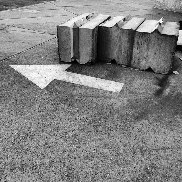 Arrow Concrete Blocks | thatwasthenthisiswow.com
