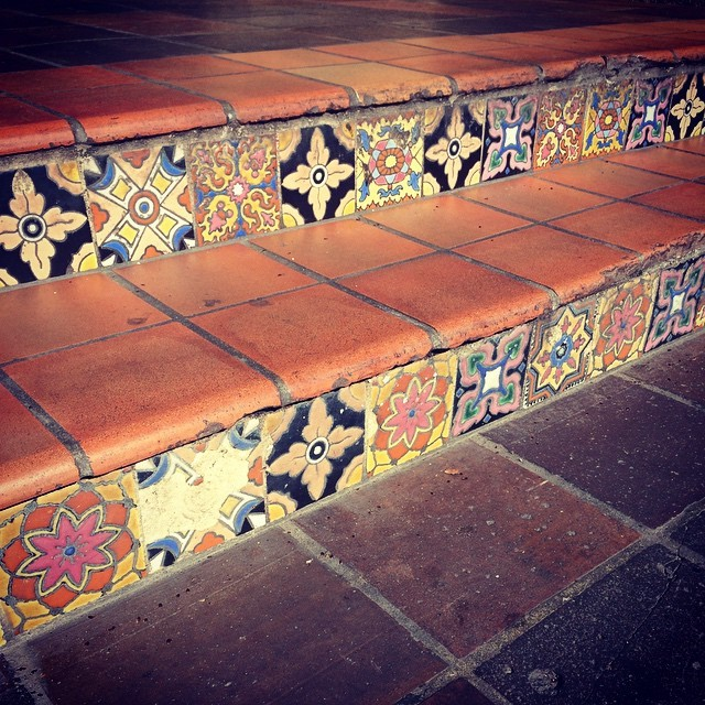 Vintage Tiles | thatwasthenthisiswow.com #instagram/paulaink166