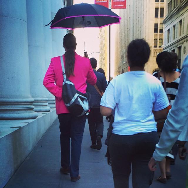 pink jacket man | thatwasthenthisiswow.com