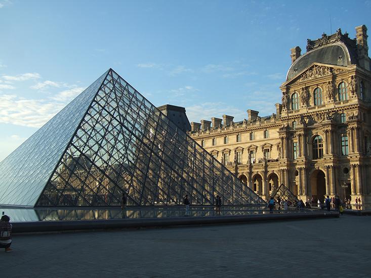 Paris Louvre | thatwasthenthisiswow.com